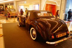 Shenzhen, China: the classic brand auto show shows some classic cars of history. The classic brand auto show shows some classic cars. In Shenzhen, China stock images