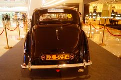 Shenzhen, China: the classic brand auto show shows some classic cars of history. The classic brand auto show shows some classic cars. In Shenzhen, China stock photography