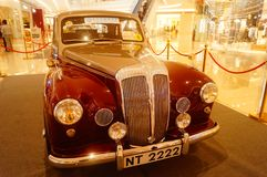 Shenzhen, China: the classic brand auto show shows some classic cars of history.