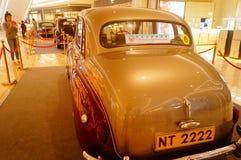 Shenzhen, China: the classic brand auto show shows some classic cars of history. The classic brand auto show shows some classic cars. In Shenzhen, China royalty free stock photo
