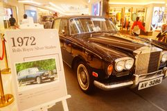 Shenzhen, China: the classic brand auto show shows some classic cars of history. The classic brand auto show shows some classic cars. In Shenzhen, China royalty free stock images