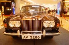 Shenzhen, China: the classic brand auto show shows some classic cars of history. The classic brand auto show shows some classic cars. In Shenzhen, China stock photo