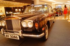 Shenzhen, China: the classic brand auto show shows some classic cars of history. The classic brand auto show shows some classic cars. In Shenzhen, China royalty free stock photography