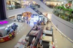 Shenzhen, China: clothing sales. Shenzhen Baoan Xixiang times city shopping plaza, clothing sales Royalty Free Stock Photos
