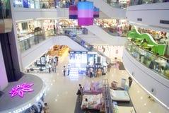 Shenzhen, China: clothing sales. Shenzhen Baoan Xixiang times city shopping plaza, clothing sales Royalty Free Stock Photography