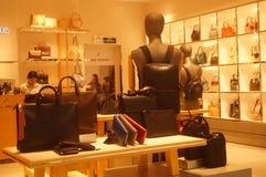 Shenzhen, China: clothing store interior landscape, newly listed clothing Stock Image