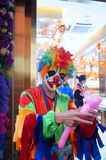 Shenzhen, China: clown promotions Royalty Free Stock Image