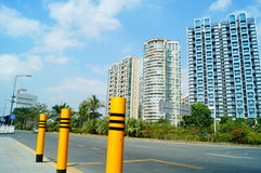Shenzhen, China: Coastal Road Traffic Royalty Free Stock Photography