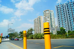 Shenzhen, China: Coastal Road Traffic Stock Photos