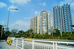 Shenzhen, China: Coastal Road Traffic Royalty Free Stock Photos