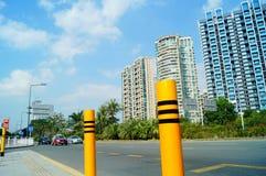 Shenzhen, China: Coastal Road Traffic Stock Photos