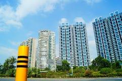 Shenzhen, China: Coastal Road Traffic Royalty Free Stock Images