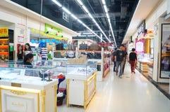 Shenzhen, China: commodity shopping plaza Stock Photo