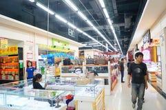 Shenzhen, China: commodity shopping plaza Stock Photos