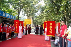 Shenzhen china: confucius cultural festival held Stock Photo