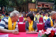 Shenzhen china: confucius cultural festival held Stock Images