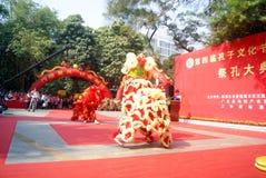 Shenzhen china: confucius cultural festival held Stock Photo