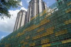 Shenzhen, China: in the construction of buildings Royalty Free Stock Images