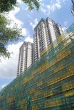 Shenzhen, China: in the construction of buildings Stock Photos