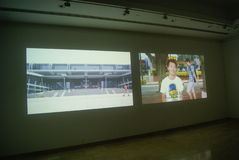 Shenzhen, China: creative exhibition Royalty Free Stock Image
