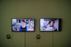 Shenzhen, China: creative exhibition Stock Photo