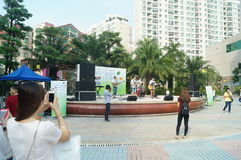 Shenzhen, China: cultural and recreational activities Stock Photography