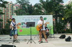 Shenzhen, China: cultural and recreational activities Stock Photo