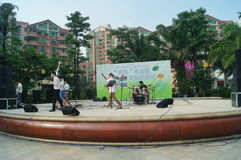 Shenzhen, China: cultural and recreational activities Stock Image