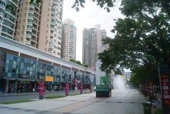 Shenzhen, China: Cultural Square Stock Photo