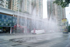 Shenzhen, China: Cultural Square Stock Photography