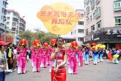 Shenzhen china: dance performance royalty free stock images
