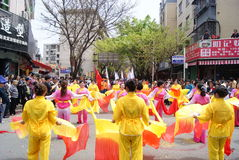 Shenzhen china: dance performance Stock Image