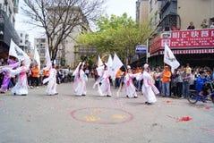 Shenzhen china: dance performance Royalty Free Stock Photos