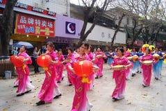 Shenzhen china: dance performance Stock Photos