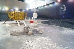 Shenzhen, China: De Chinese Maanactiviteiten van de de Voorlichtingsweek van de Onderzoeksprogrammawetenschap stock foto