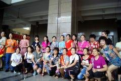 Shenzhen China: de dagactiviteit van de moeder Royalty-vrije Stock Afbeeldingen