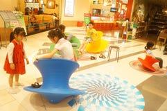 Shenzhen, China: de kinderen spelen Royalty-vrije Stock Afbeelding