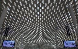 Shenzhen, China - 11 de septiembre de 2016: Aeropuerto internacional de Bao'an Fotografía de archivo libre de regalías