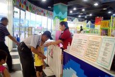 Shenzhen China: de speelplaats van kinderen Stock Fotografie