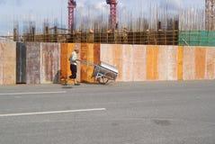 Shenzhen, China: die Baustelle des Turmkrans Stockbilder