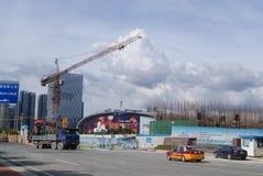 Shenzhen, China: die Baustelle des Turmkrans Stockfoto