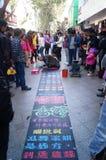 Shenzhen, China: disabled people begging Stock Image