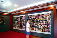 Shenzhen china: documentary photography exhibition Stock Images