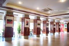 Shenzhen china: documentary photography exhibition Royalty Free Stock Image