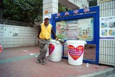 Shenzhen, china: donation vehicle Stock Photos