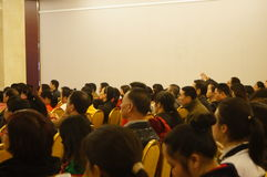 Shenzhen, China: education lectures Stock Photos