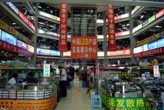 Shenzhen, china: electronic products trading market Royalty Free Stock Photography