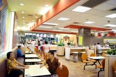 Shenzhen china: enjoy food in kfc Stock Photos