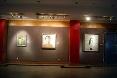 Shenzhen, China: exposición de la caligrafía y de la fotografía Fotografía de archivo libre de regalías
