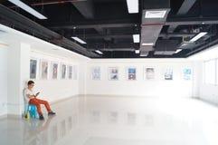 Shenzhen, China: Exposição dos desenhos animados Imagens de Stock